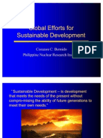 Global Efforts of SD PPT
