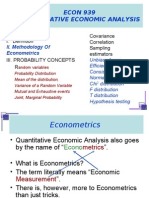 ECON939 Summer 2011 Lectures Lecture I