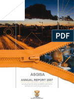 SA ASGIS Annual Report 2007