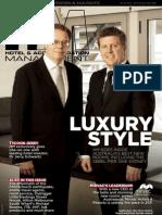 HM (Hotel Management) Magazine Apr 2011 V.15.2