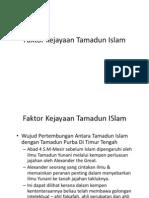 Faktor Kejayaan Tamadun Islam