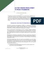 ATDD With Robot Framework
