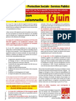 Tract Manif Interpro Du 16 Juin