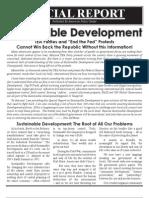 ICLEI Special Report - (UN Agenda 21) Sustainable Development - DeWeese