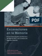 Excavaciones en la Memoria. Estudio historiográfico del Barranco del Agua de Dios y de la Comarca de Tegueste (Tenerife)