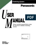 KX-T 206E User Manual 1142za