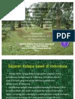 pengamatan penyakit kelapa sawit. IPB.