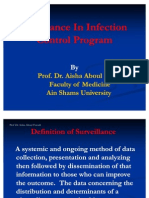 Surveillance in Infection Control Program2