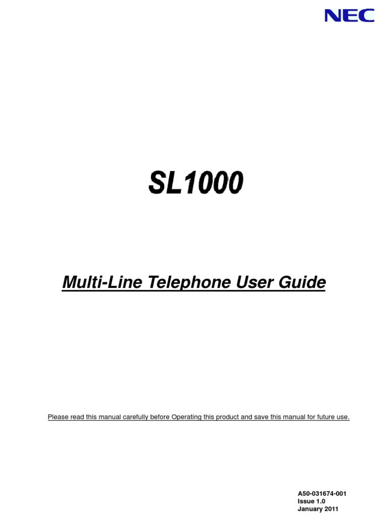 sl1000 mlt user guide v1 key telephone voicemail telephone number rh scribd com Multi-Line Lu Building Specialties Multi-Line