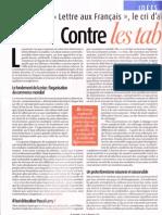 Maurice Allais-contre Les Tabous Indiscutes