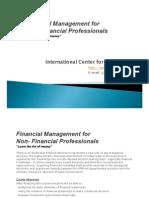 Financial Management for Non-Financil Professionals