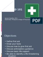 First Aid 101 June2011