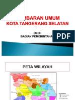 Gambaran Umum Kota Tangerang Selatan Rev. 1[1]
