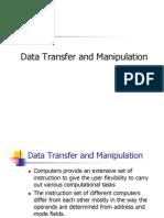 Data Transfer and Manipulation