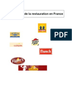 Le marché de la restauration en France