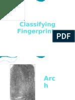 Classifying Fingerprints