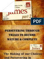 Persevering Through Trials-Part 2-Book of James - Chad-10April11