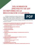 Anteproyecto Refo Negociacion Colectiva