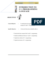 Unit 1 - Object Oriented Programming / C++