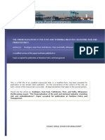 The Financial is at Ion of the Port and Terminal Industry Revisiting Risk and Embeddedness