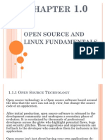 OPEN SOURCE AND  LINUX FUNDAMENTALS