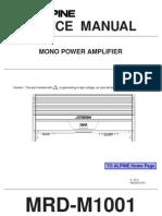 Alpine-MRDM1001 Car Amp