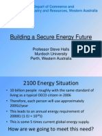 Building a Secure Energy Future
