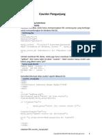 Counter Pengunjung PHP