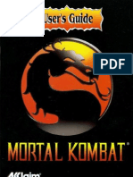 Mortal Kombat Manual