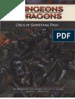 Lvl 5 Orcs of Stonefang Pass