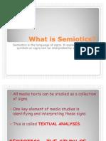 What is Semiotics Media Studies