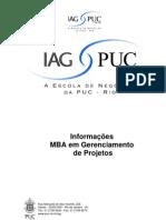 Inf Complem _ementas Gerenciamento de Projeto 2011