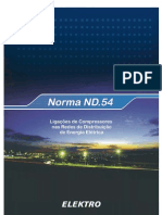 ND 54-Rev04_Ligação de Compressores à Rede Elétrica_ELEKTRO