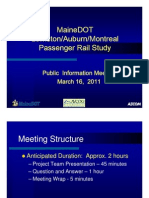 MaineDOT Intercity Public Meeting ATRC 031611