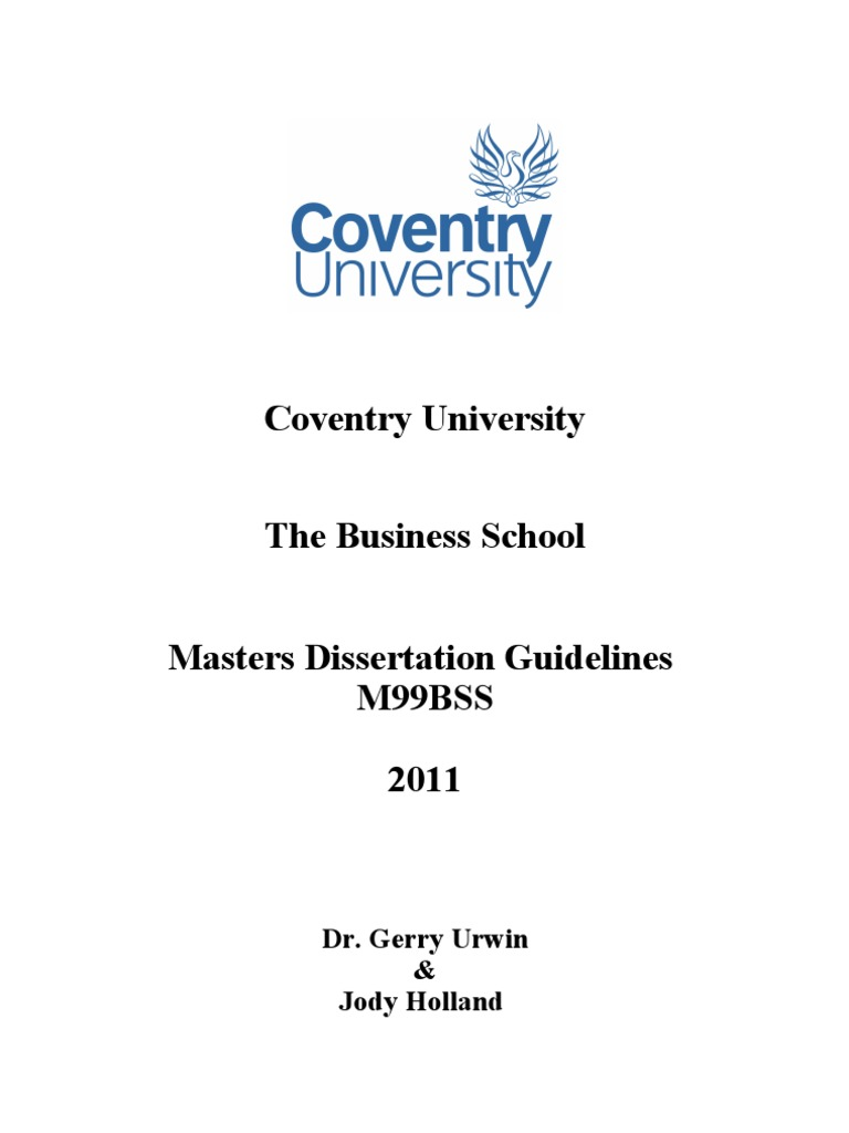Dissertation msc napier