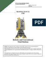 Robotic Total Station