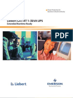 Liebert GXT RT - 50Hz - Brochure