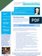 Joe Bingley Memorial Foundation Newsletter