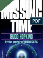 Budd Hopkins - Missing Time