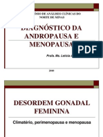Diagnóstico da Andropausa e Menopausa
