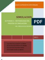 actividad 3 METODOLOGIA DEL PROCESO DE SIMULACIÓN