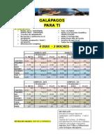 Galapagos Para Ti Gye Nac 4d - 3n Ag1