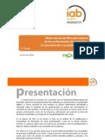 IAB Observatorio Mercado Laboral Profesionales Del Marketing