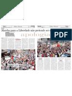 Marcha Da Liberdade Cuiaba - Folha Do Estado