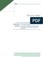 Diretriz - Hipertermia Maligna