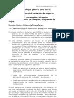 Clase 10 Metodología general para la EIA
