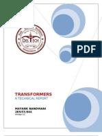 Short Report Transformers