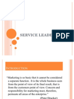 Service Leadership Ppt