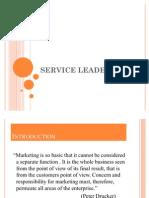 Service Leadership Ppt