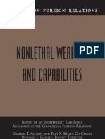 NONLETHAL WEAPONS AND CAPABILITIES